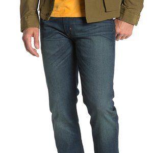 502 Regular Taper Denim Blue Jeans Sz 38x32 Dk Was